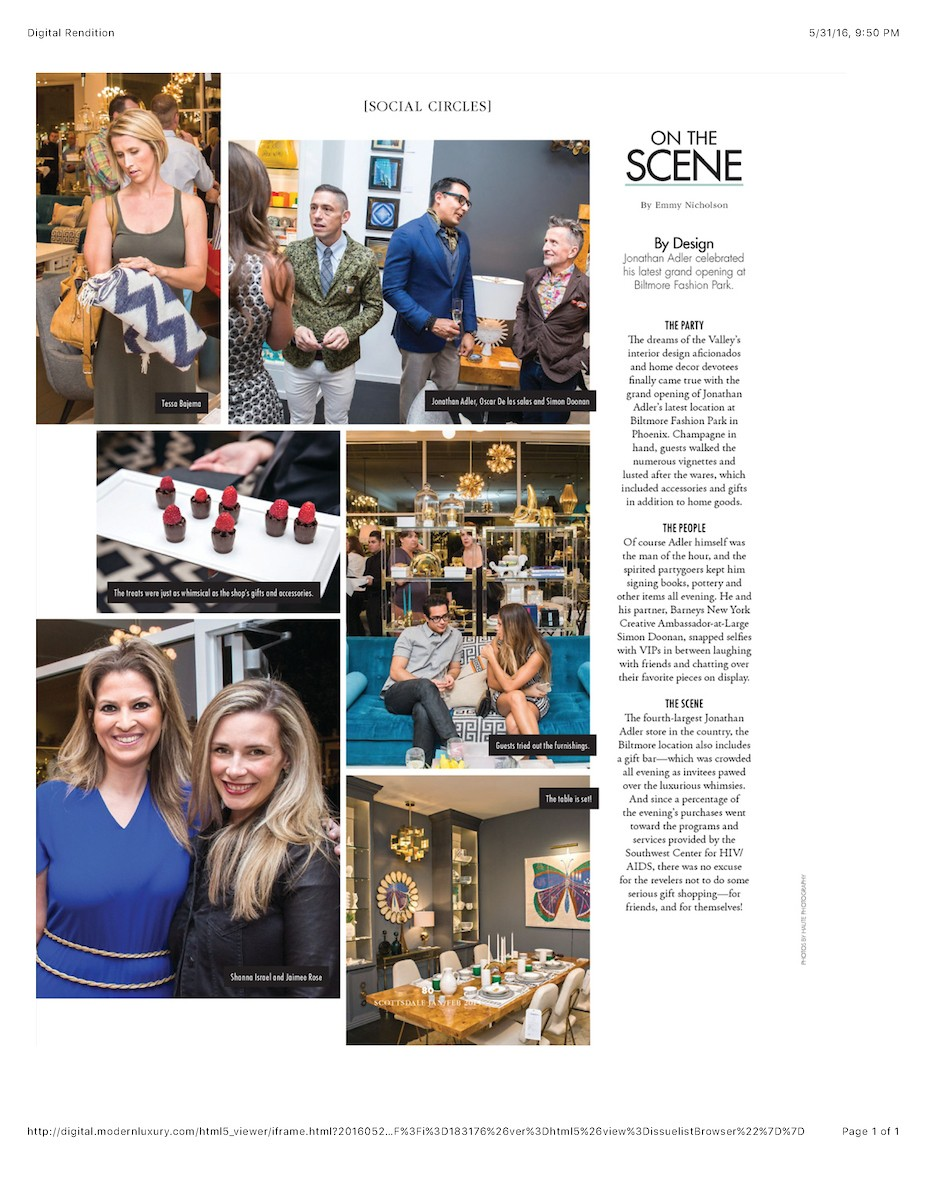 Modern Luxury Scottsdale 10.15.2