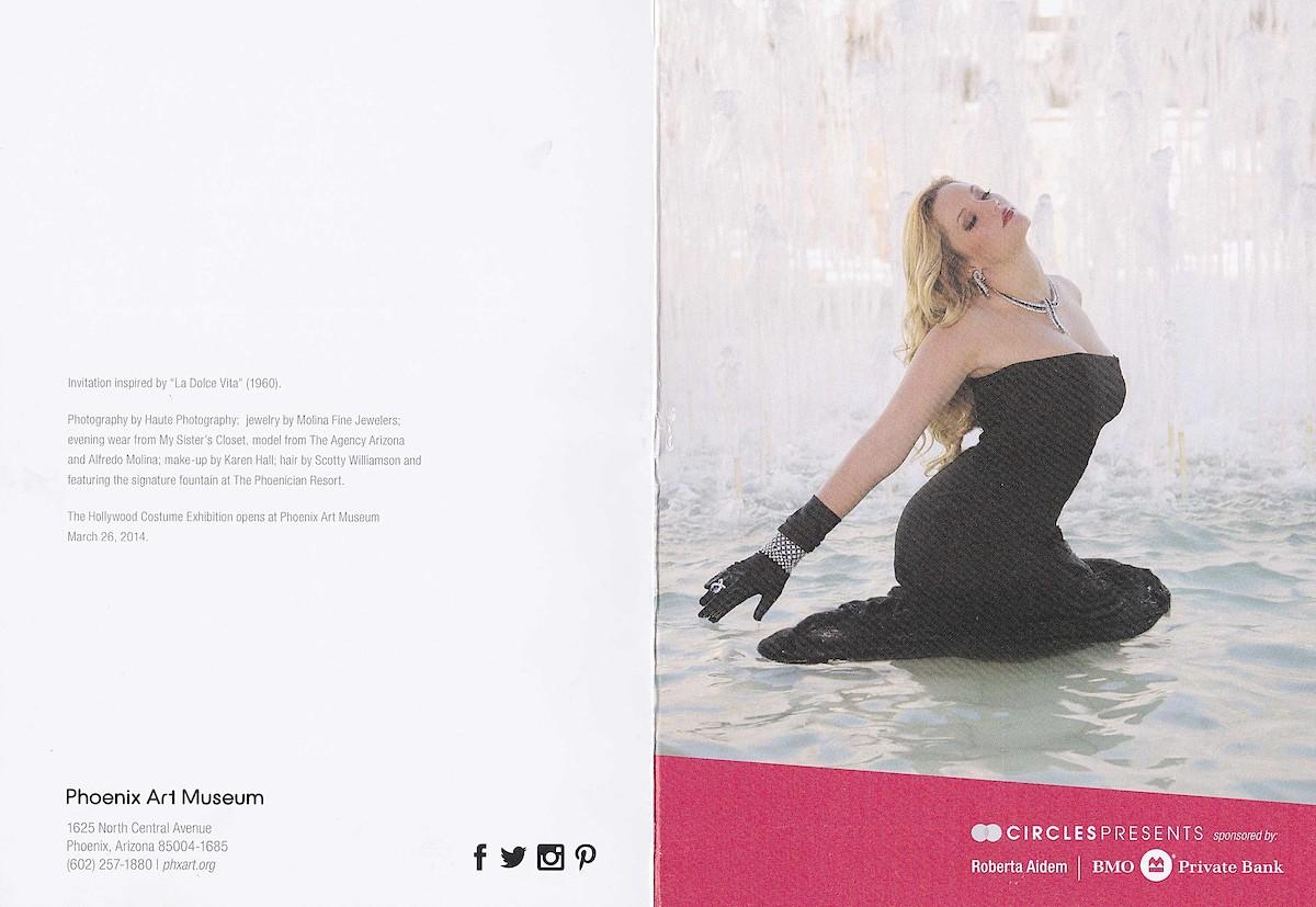 Phoenix Art Invitation Cover
